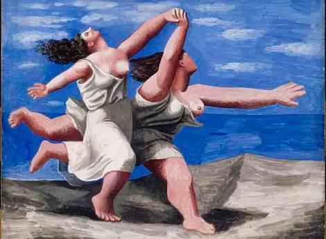 Picasso-Mujeres-en-la-playa